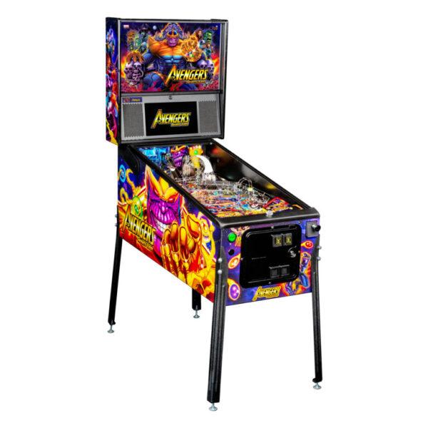 Avengers: Infinity Quest Premium Pinball Machine by Stern