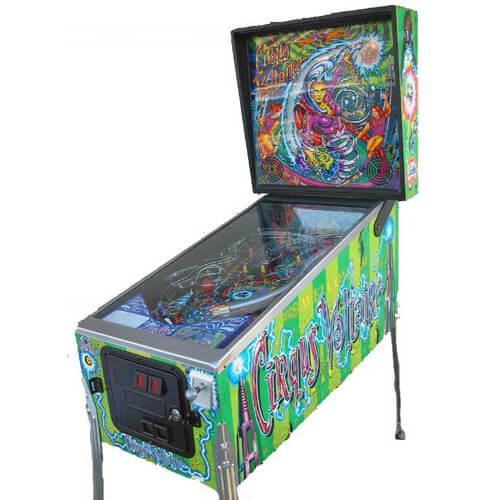 Cirqus Voltaire Pinball Machine by Bally