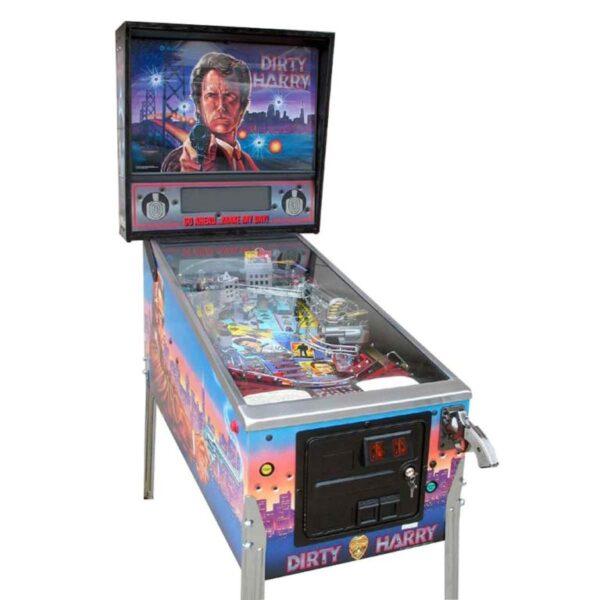 Dirty Harry Pinball Machine by Williams